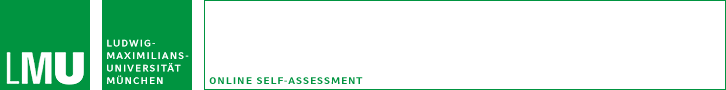 Online Self-Assessment
